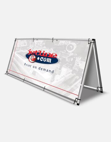 A-Frame Banner