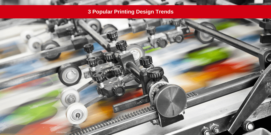 Popular printing design