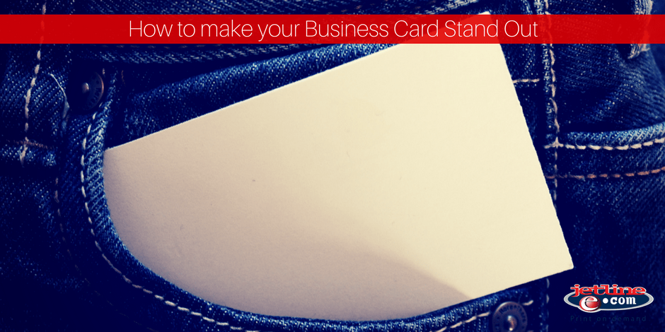How to make your business card stand out