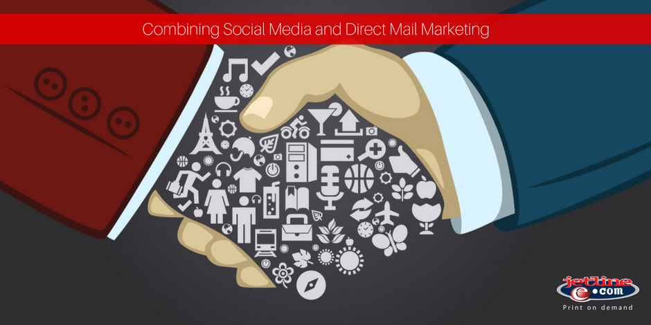 Combining social media and direct mail marketing