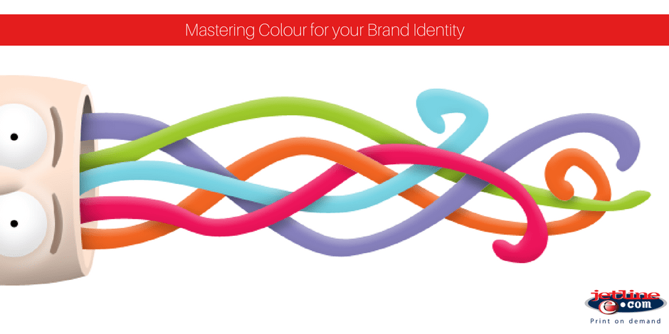 Mastering colour for your brand identity