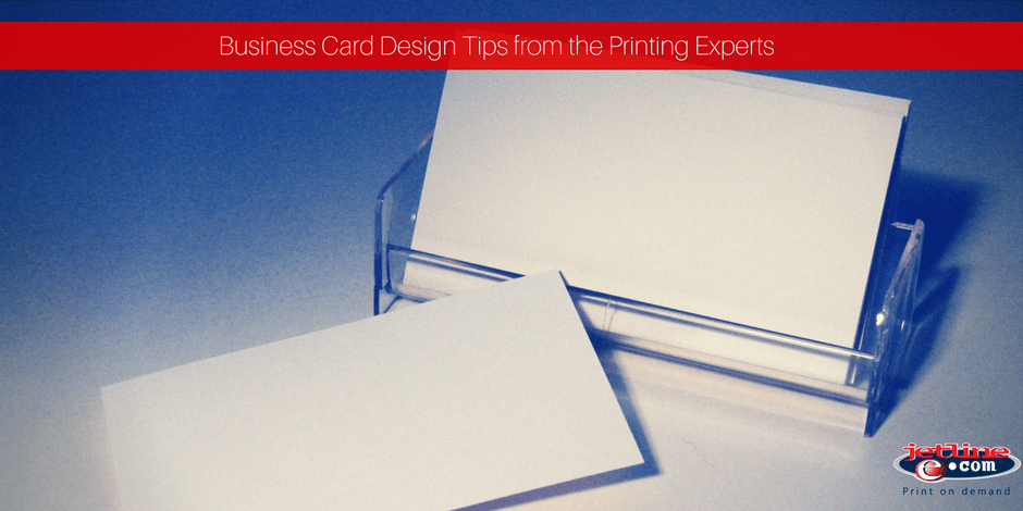 Business card design tips from the printing experts