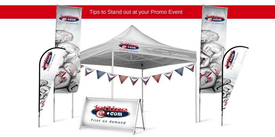 Tips to stand out at your promo event
