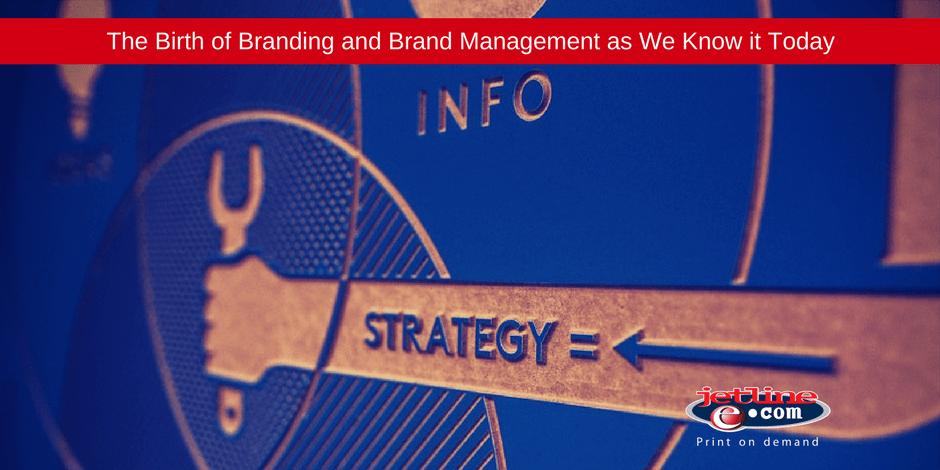 Birth of branding and brand