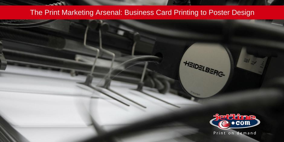 Print marketing arsenal