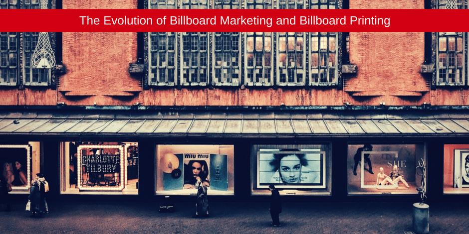 The evolution of billboards marketing