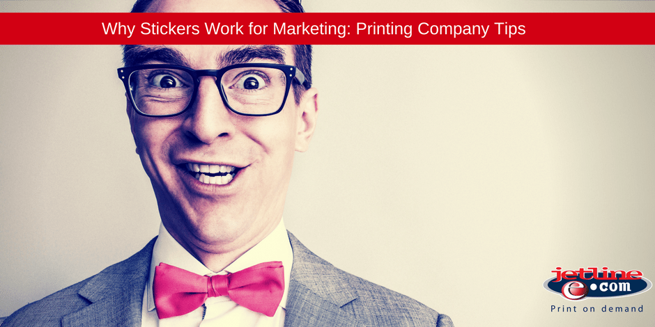 Why stickers work for marketing