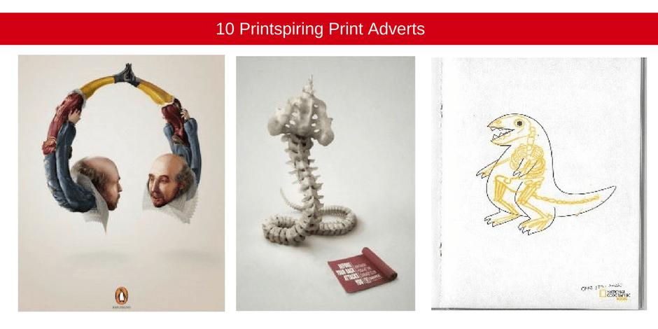 10 Printspiring print adverts