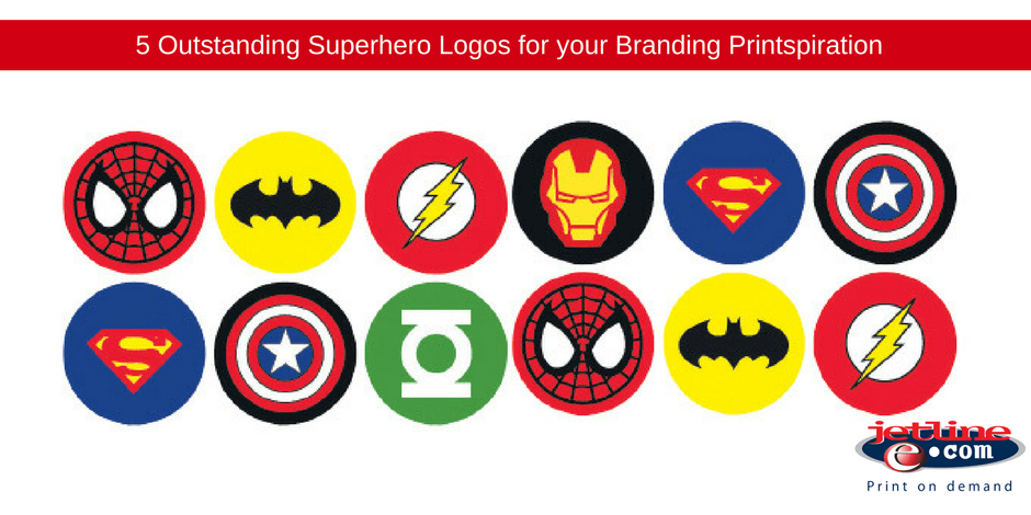 Outstanding superhero logos for your branding