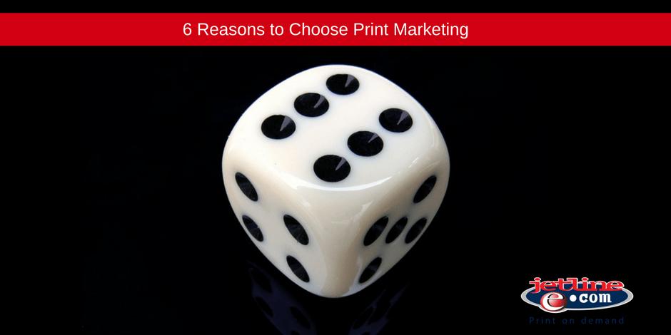 Reasons to choose print