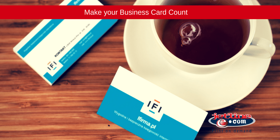 Make your business card count