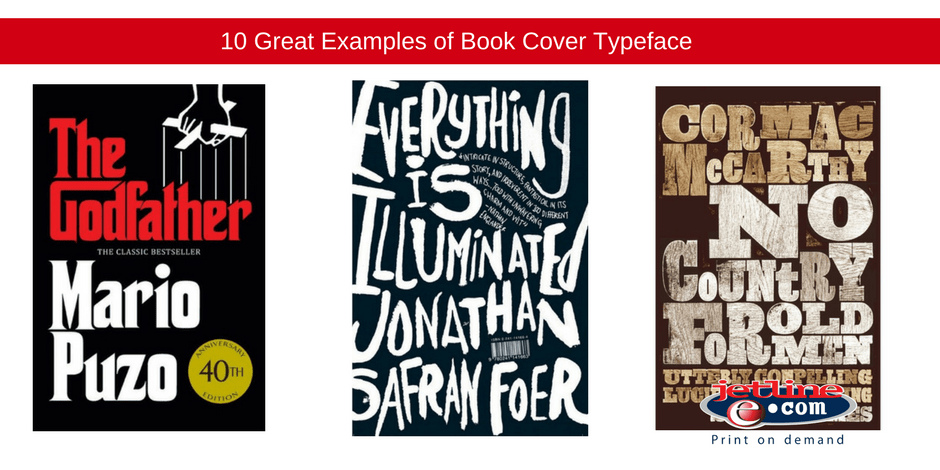 Great examples of book cover typeface
