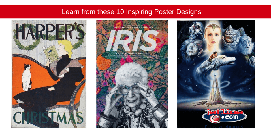 Learn from these 10 inspiring poster designs
