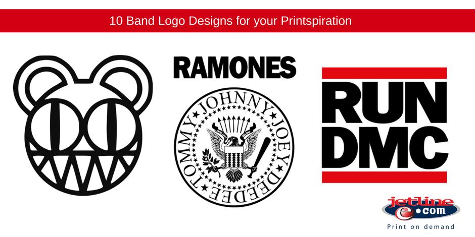 10 Band logo designs for your printspiration