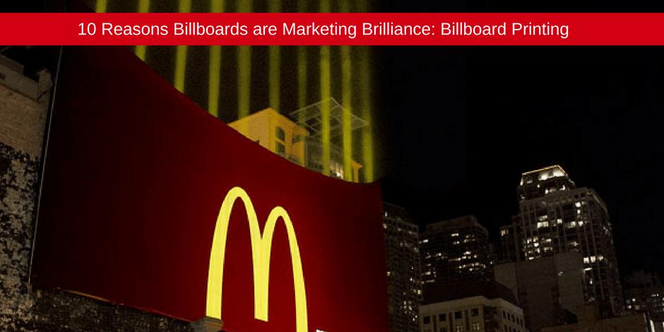 Reasons billboards are marketing brillance