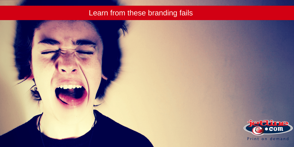 Learn for these branding fails