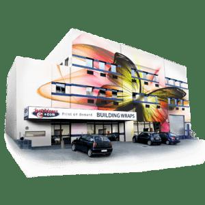 Building Wraps| Building Wrap Advertising | Get a Quote | Jetline