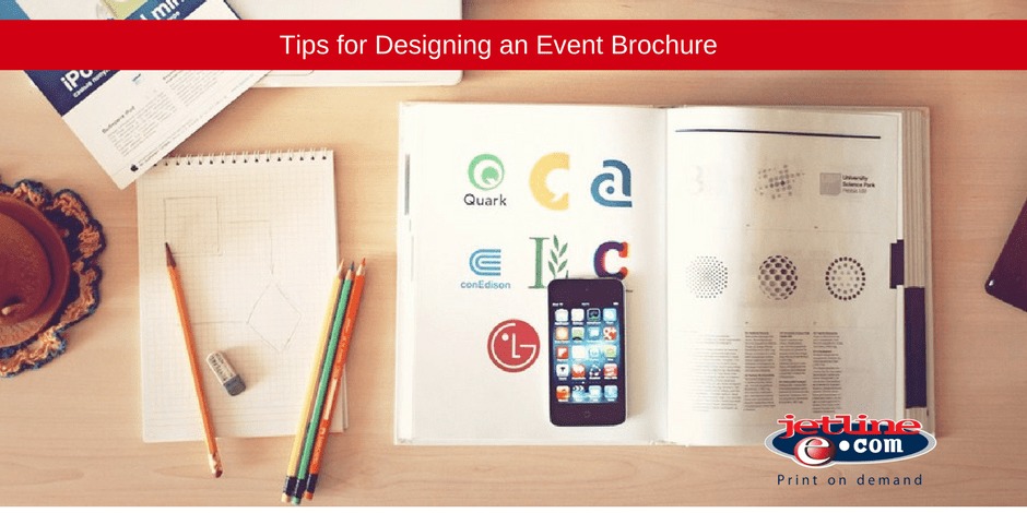 Tips for designing an event brochure