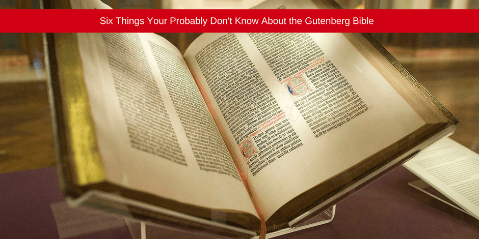 Six things your probably don't know