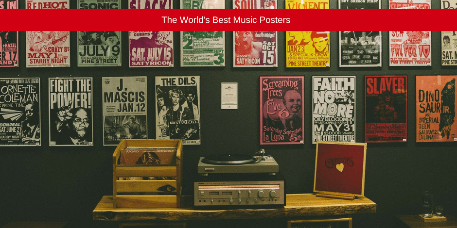 The world's best music poster
