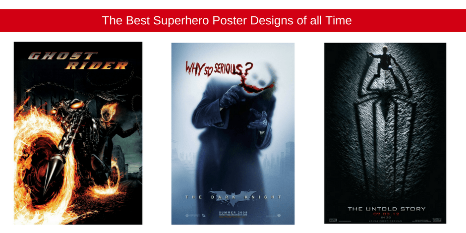 Superhero poster designs of all time