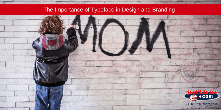 The importance of typeface in design and branding