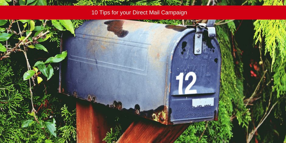 Tips for your direct mail campaign