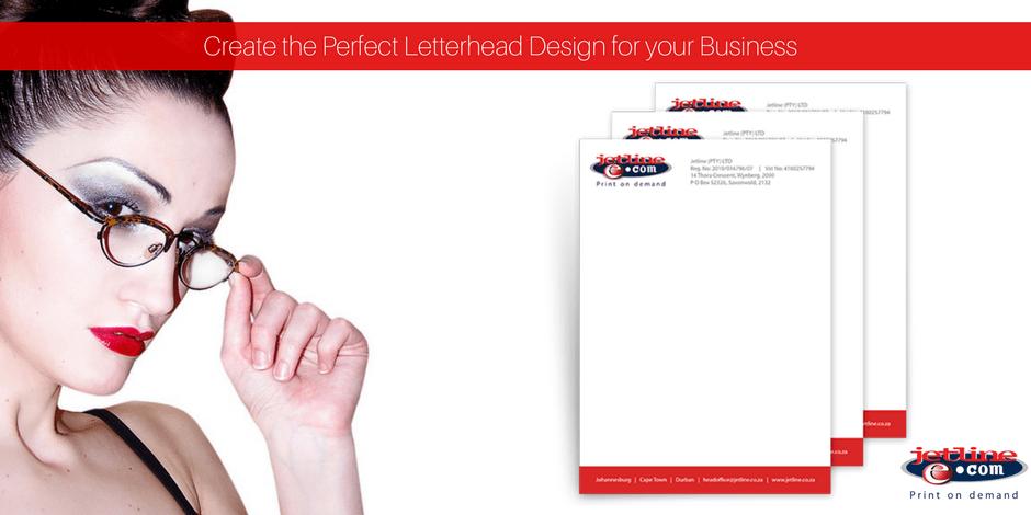Create the perfect letterhead