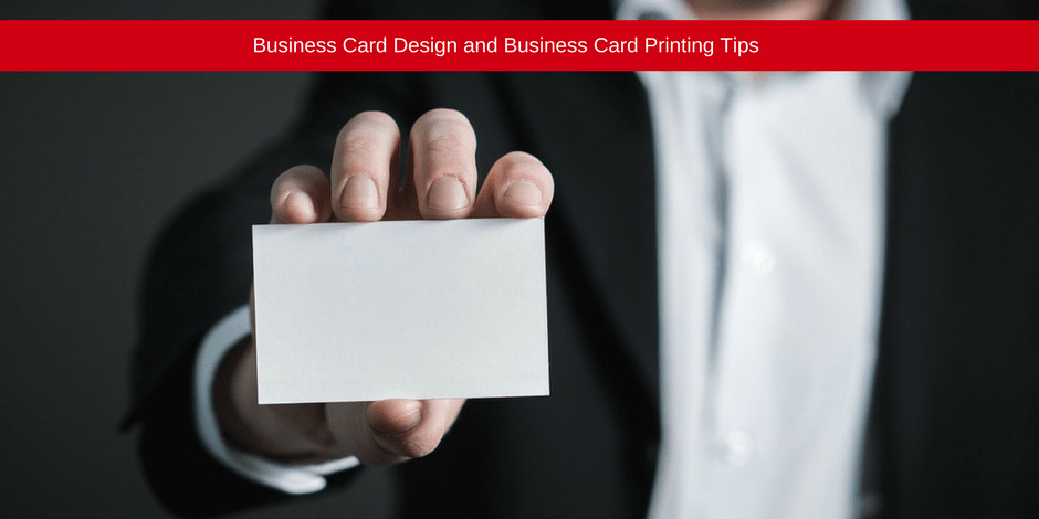 Business card printing tips