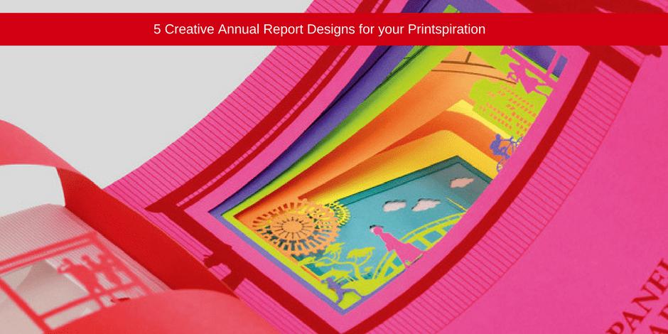 Creative annual reports