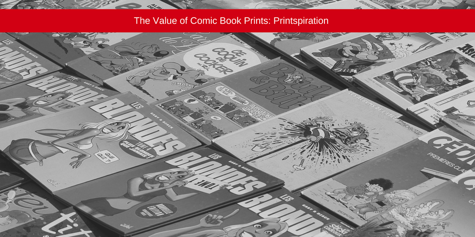 The value of comic book prints