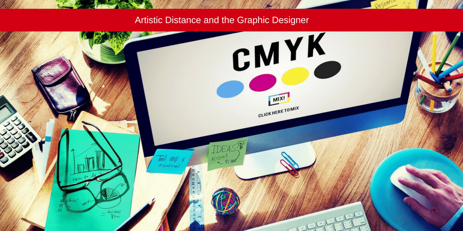 Artistic distance and the graphic designer