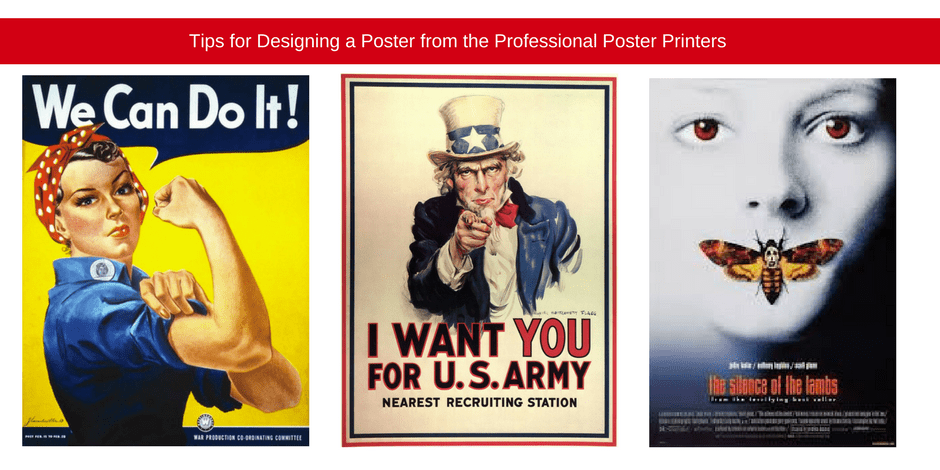 Poster from the professional poster printers