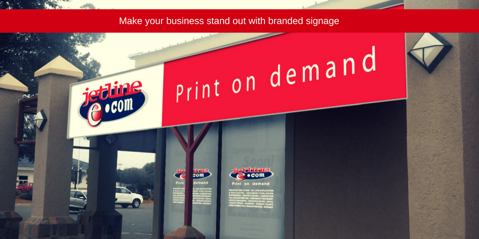 Make your business stand out with branded